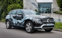 Sensor Mercedes Fuell-Cell Car